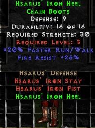 Hsarus' Iron Heel