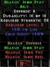 Hsarus' Iron Stay