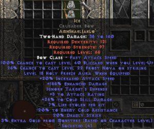 Ice Crusader Bow - 140-189% ED & 30% CSD