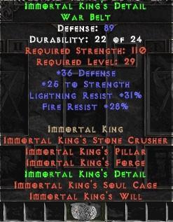 Immortal King's Detail