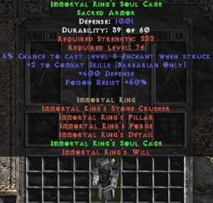 Immortal King's Soul Cage