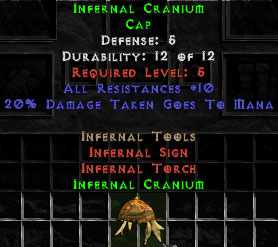 Infernal Cranium - 5 Def - Perfect