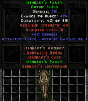 Isenhart's Parry - 75 Def - Perfect