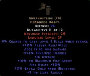 Infernostride - 70% EG