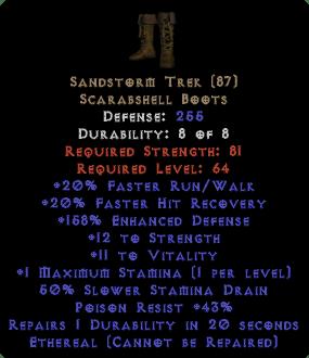 Sandstorm Trek - Ethereal