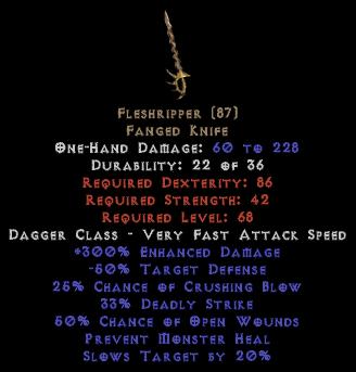 Fleshripper 300% ED - Perfect