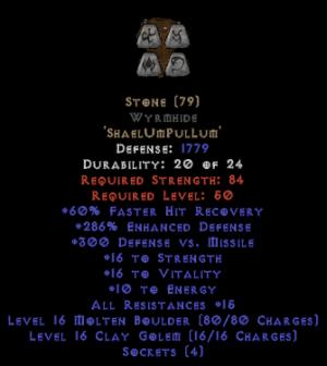 Stone Wyrmhide - 270-289% ED