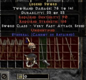 10x Unid Rare Legend Sword Ethereal