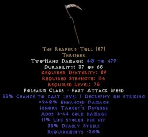 The Reaper's Toll - 220-239% ED