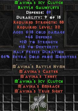 M'avina's Icy Clutch