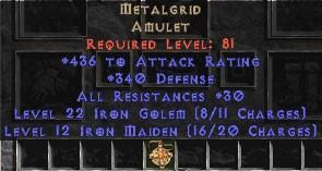 Metalgrid 30-34 Resist All