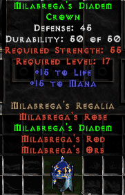Milabrega's Diadem - 45 Def - Perfect