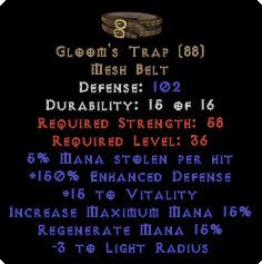 Gloom's Trap - 150% ED - Perfect