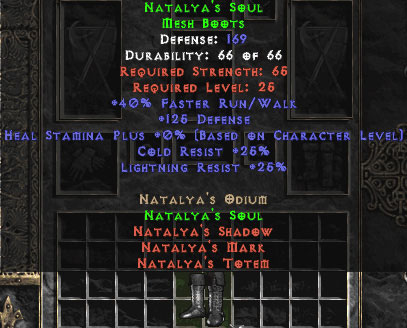 Natalya's Soul - 25% Light Res