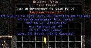 Necromancer Hellfire 17-19 res 20 stats