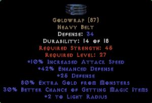 Goldwrap - 80% Gold find
