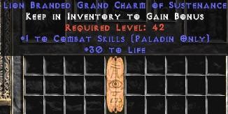 Paladin Combat Skills w/ 30 Life GC