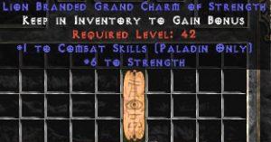 Paladin Combat Skills w/ 6 Strength GC