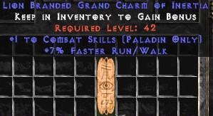 Paladin Combat Skills w/ 7% FRW GC