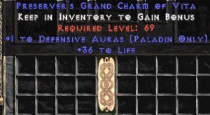 Paladin Defensive Auras w/ 36-39 Life GC