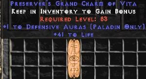 Paladin Defensive Auras w/ 41-44 Life GC