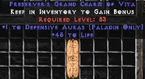Paladin Defensive Auras w/ 45 Life GC