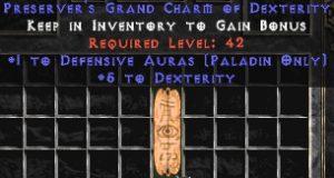 Paladin Defensive Auras w/ 3-5 Dex GC