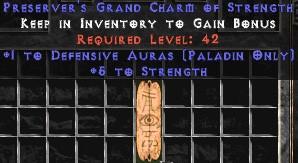 Paladin Defensive Auras w/ 3-5 Str GC
