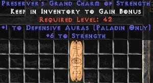Paladin Defensive Auras w/ 6 Strength GC