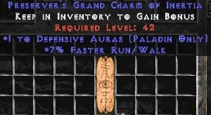 Paladin Defensive Auras w/ 7% FRW GC