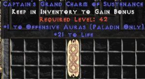 Paladin Offensive Auras w/ 21-29 Life GC