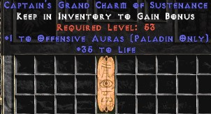Paladin Offensive Auras w/ 35 Life GC