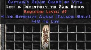 Paladin Offensive Auras w/ 40 Life GC