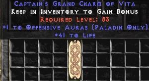 Paladin Offensive Auras w/ 41-44 Life GC