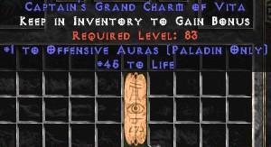 Paladin Offensive Auras w/ 45 Life GC