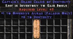 Paladin Offensive Auras w/ 3-5 Dex GC