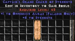 Paladin Offensive Auras w/ 3-5 Str GC