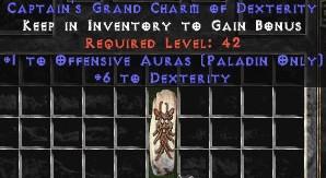 Paladin Offensive Auras w/ 6 Dex GC