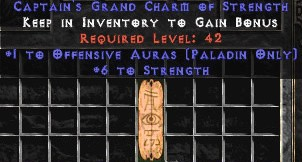 Paladin Offensive Auras w/ 6 Strength GC