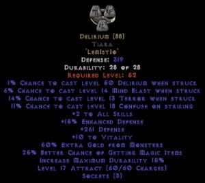 Delirium Diadem - Base 15/15