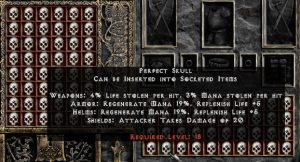 Perfect Skull - Pack of 88