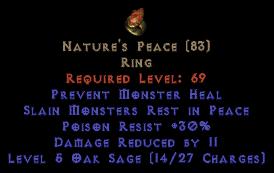 Nature's Peace - 30 Poison Rest