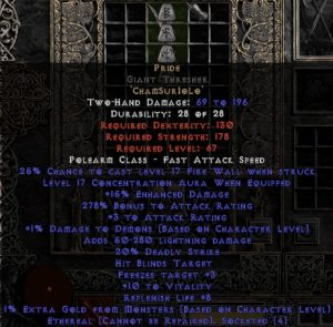 Pride Giant Thresher - Ethereal - 16-19 Conc