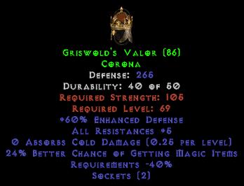 Griswold's Valor