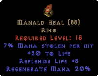 Manald Heal - 7% ML & 8% RL - Perfect