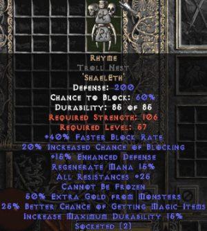 Rhyme Troll Nest - Base 15% ED
