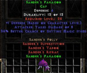 Sander's Paragon - 5 Def - Perfect