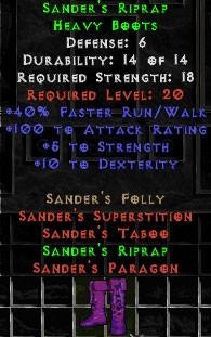 Sander's Riprap
