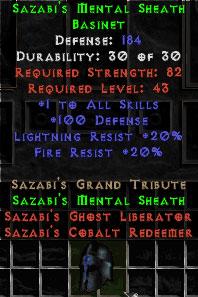 Sazabi's Mental Sheath - 20 Light Resist