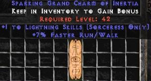 Sorceress Lightning Skills w/ 7% FRW GC